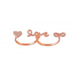 Δαχτυλίδι '' love ''